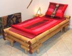 Gästebett, Hotelbett aus Bambus