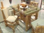Tisch - Esszimmertisch aus Bambus, Bambusmöbel aus Bali