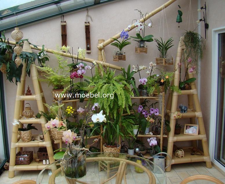 Bambusmöbel - Möbel für den Wintergarten aus Bambus