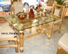 Tische aus Bambus, Esstische, Wintergärten