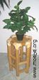 Warenpodest, Blumentisch oder Barhocker aus Bambus