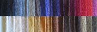 Stoffe, Farben vom Bezug