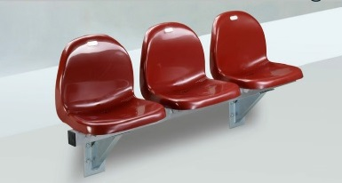 Stadium seats, seat shells for the stadium