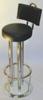 Barhocker Stahl, Edelstahl, verchromt, vergoldet, pulverbeschichtet, lackiert