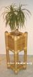 Blumenübertöpfe aus Bambus