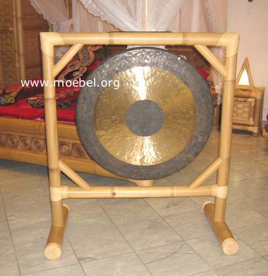 Gong in einem tollen Bambusrahmen